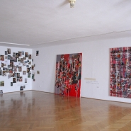 installation view, Gallery at the White Unicorn, Klatovy
