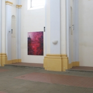 Installation view, St. Lawrence Church, Klatovy