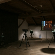 Translation of Y.C.R.M.D., 7', Installation view, granary Klenová.jpg