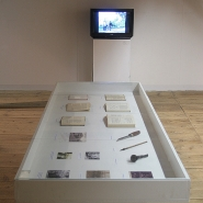 Myths and Legends of Slovakia, installation view Granary Klenová
