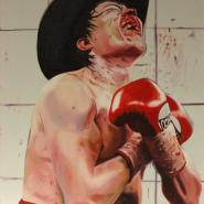 Victory, oil/canvas, 189x127 cm, 2007