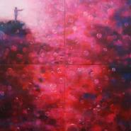Man with Gun, 260x200cm, acryl on canvas, 2008