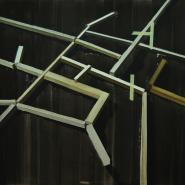 Untitled, 2008, oil on canvas, 170 x 227 cm