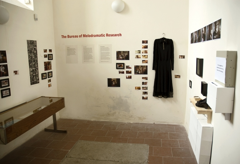 The Bureau of Melodramatic Research, installation, St. Lawrence Church, Klatovy