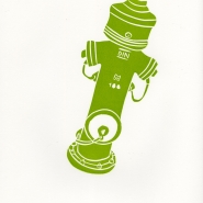 Hydrant, 2010, linocut, hand-made paper, 53 x 38,5 cm