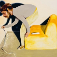 Changing Bulb, 2010, oil on canvas, 140 × 160 cm