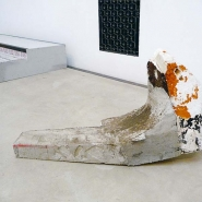 Untitled  1, 2010, concrete, styropor
